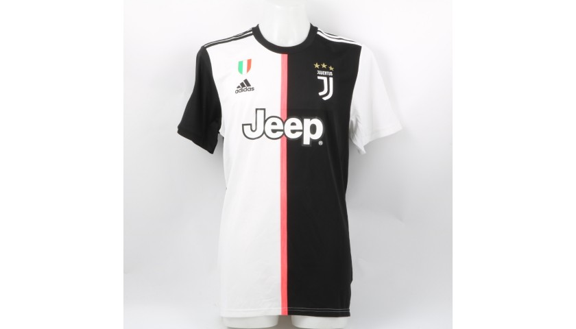 reputable site 62df6 b1cfa Ronaldo's Official Juventus 2019/20 Signed Shirt - CharityStars
