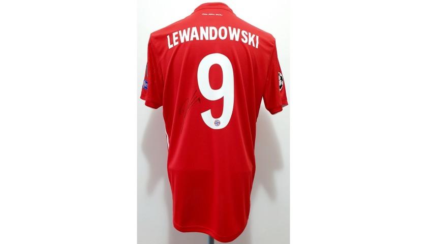 Lewandowski's Official Signed Shirt, PSG-Bayern Munich 2020 ...