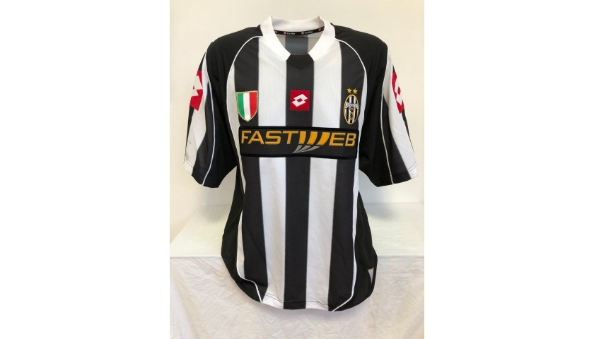 Di Vaio's Official Juventus Signed Shirt, 2002/03