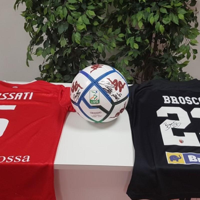 Kombat Signed Football, Monza-Ascoli 2020