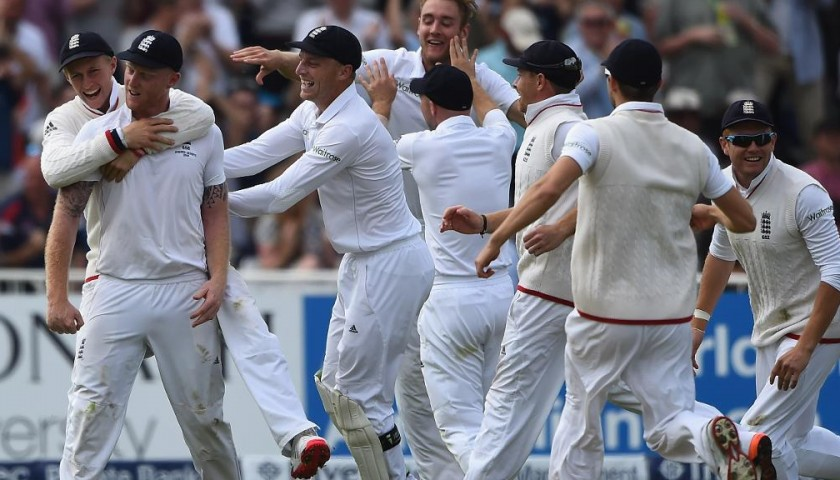 Two Ashes Tickets to the Fifth and Final Test at the Oval with Michael Vaughan Experience