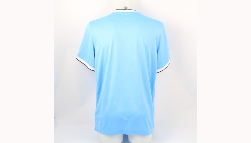 Official Manchester City Shirt - Signed by the 2013/14 Team