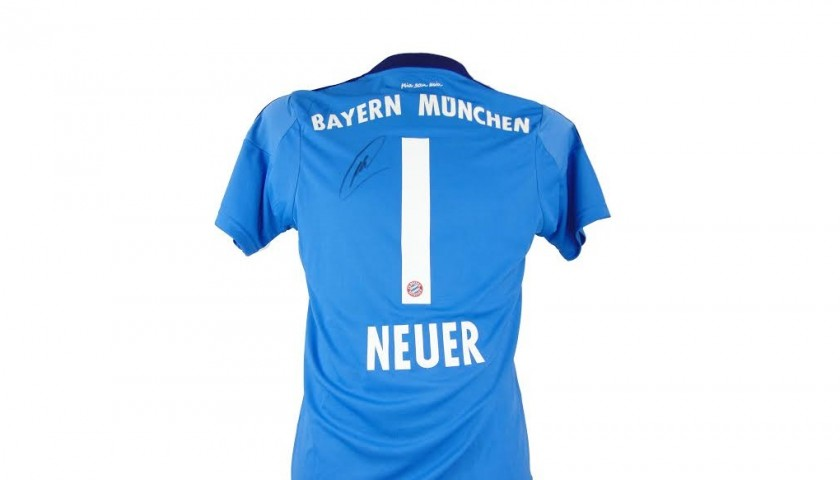 separation shoes ffee5 c5648 Signed Manuel Neuer Bayern Munich Shirt - CharityStars