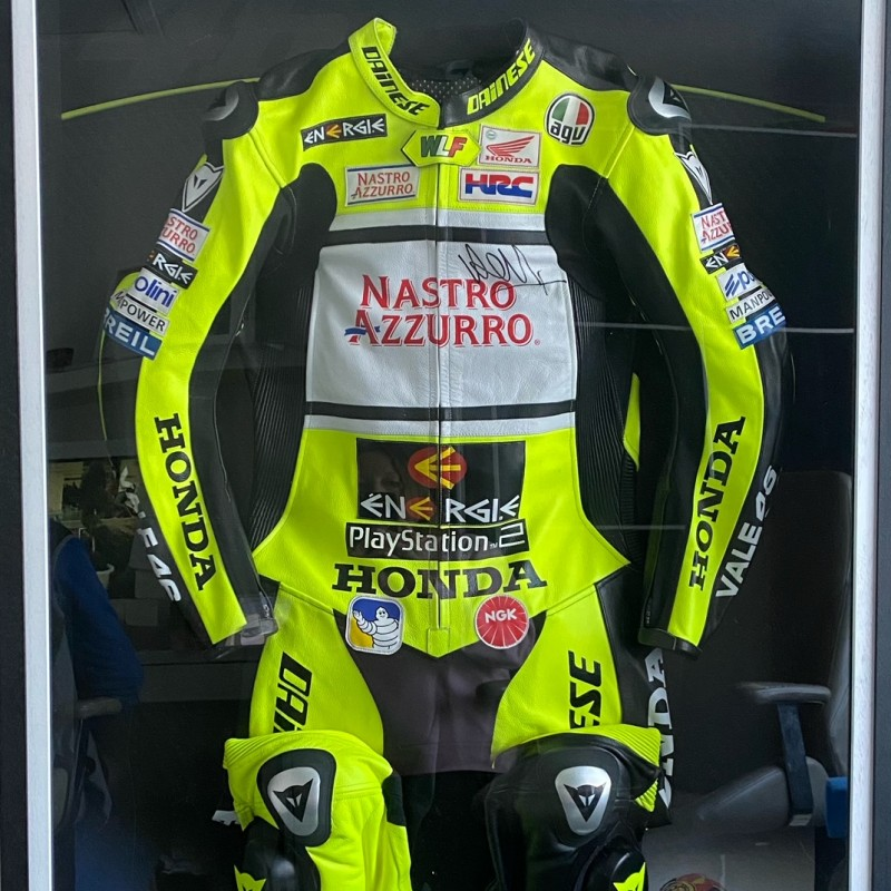 Valentino Rossi Signed Race Suit