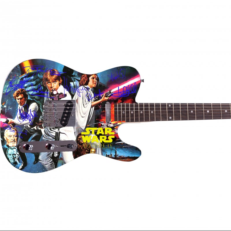 Star Wars Custom Graphics Guitar