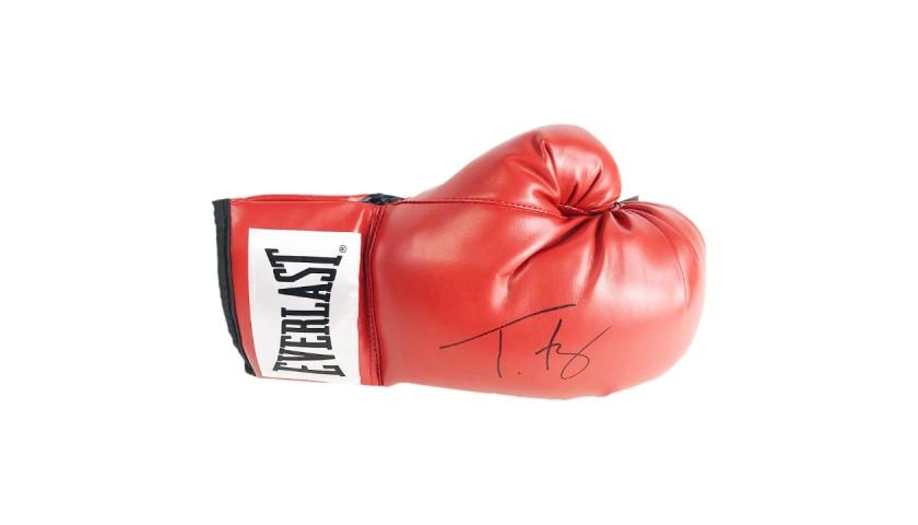 Signed Tyson Fury Boxing Glove