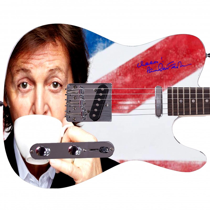 Paul McCartney Custom Graphics Guitar