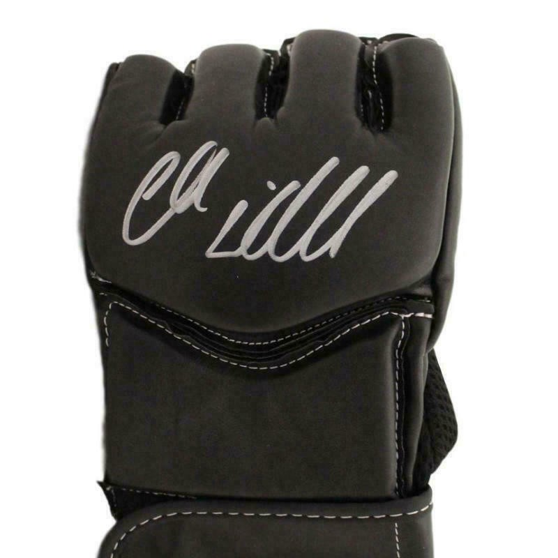 Chuck Liddell Hand Signed UFC Glove