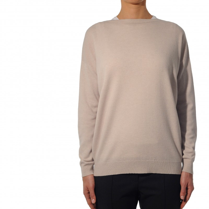 Sweater for women in cashmere by Brunello Cucinelli