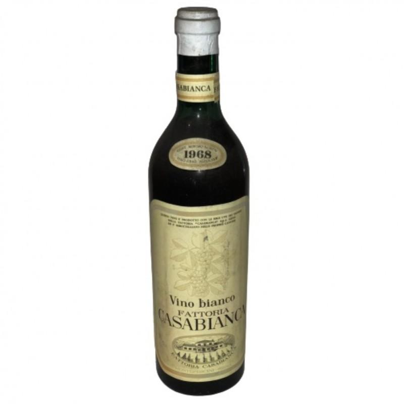 Bottle of White Wine, 1968 - Fattoria Casabianca