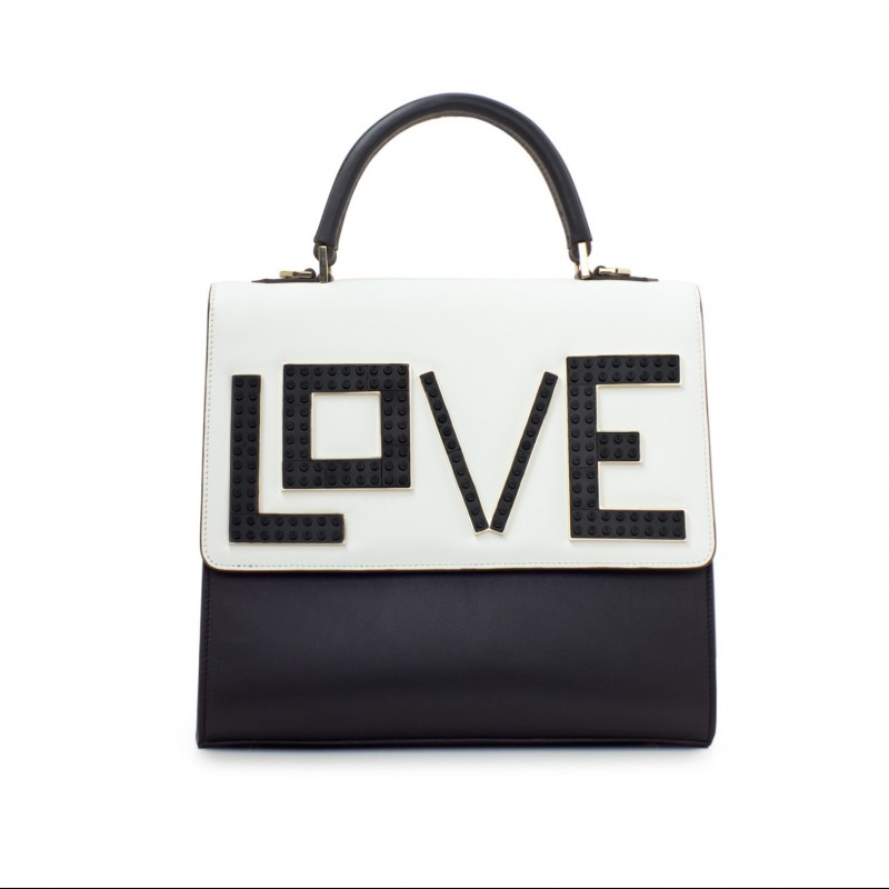 Iconic Mini Alex Black Widow Handbag by Les Petits Joueurs