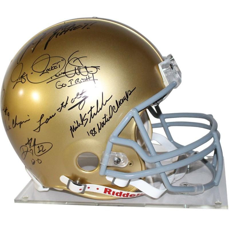 Notre Dame Championship 1988 Helmet