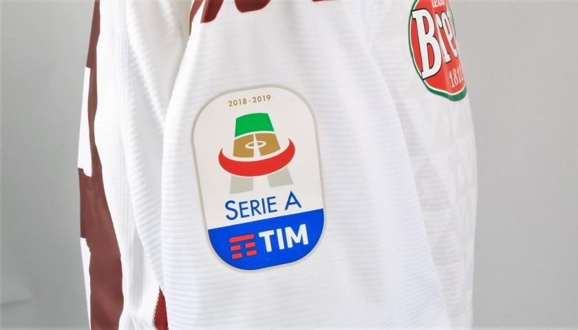 Sirigu's Worn and Signed Shirt, Frosinone-Torino 2019