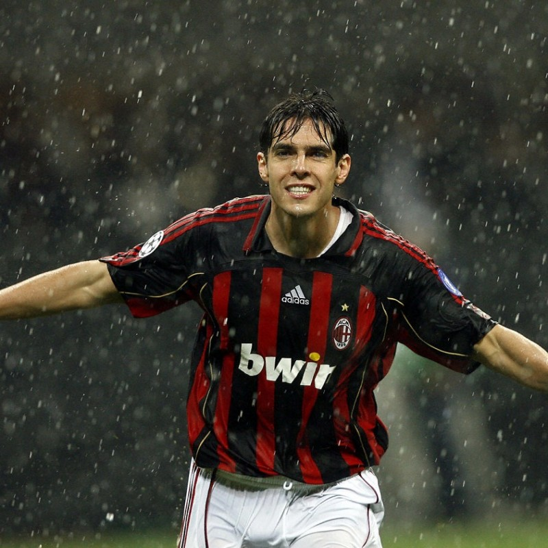 Kaka's Match-Issued Milan Shirt, 2006/07 UCL