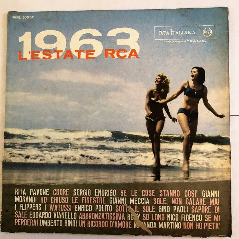 """L'estate RCA – Successi estate"" LP, 1963"