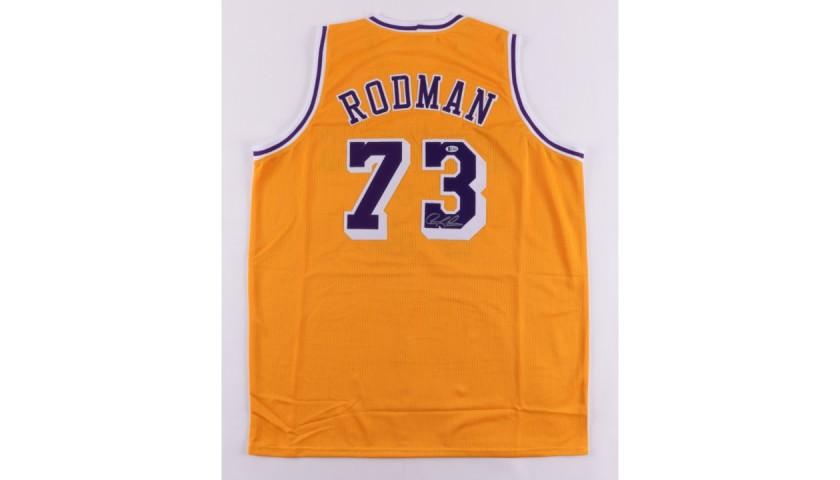 Dennis Rodman Signed Lakers Jersey - CharityStars