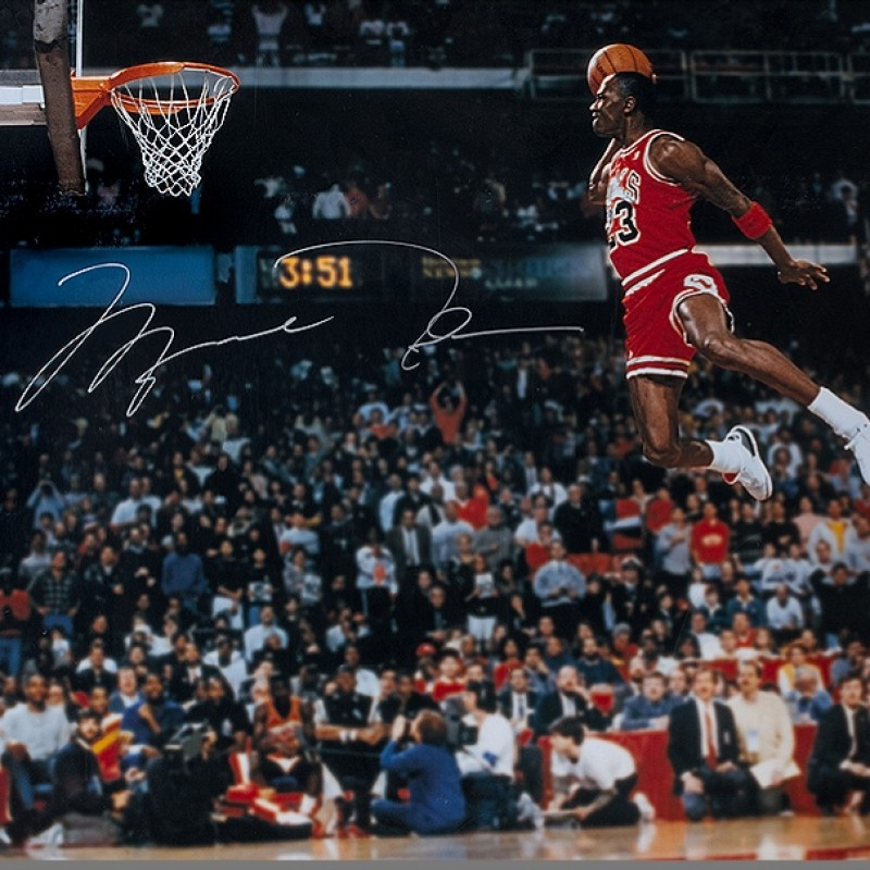 Michael Jordan, Signed Photo Chicago Bulls