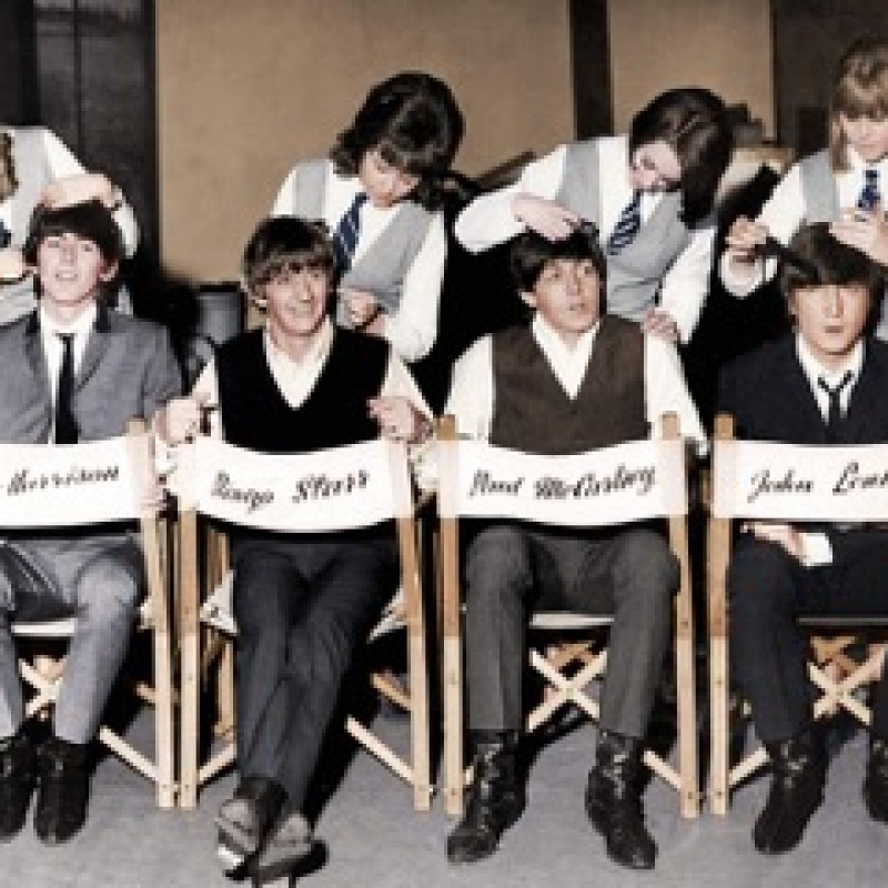 """Beatles """"A Hard Days Night"""" by Globe Photo Archives"""
