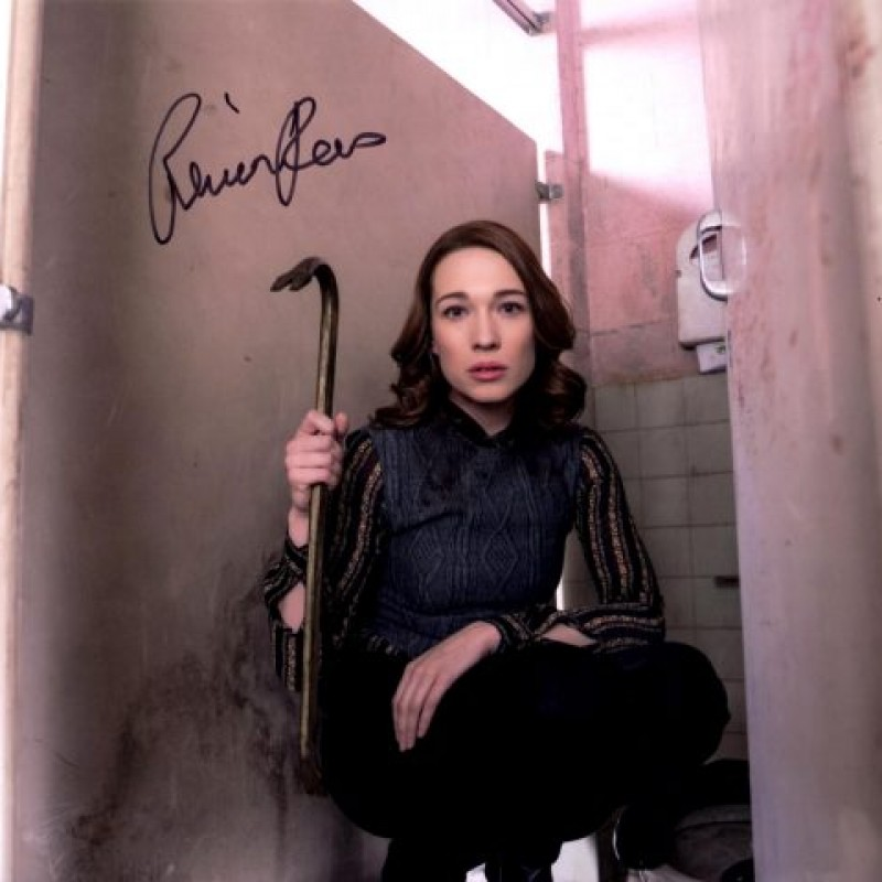Rhian Rees Autographed Halloween Photo