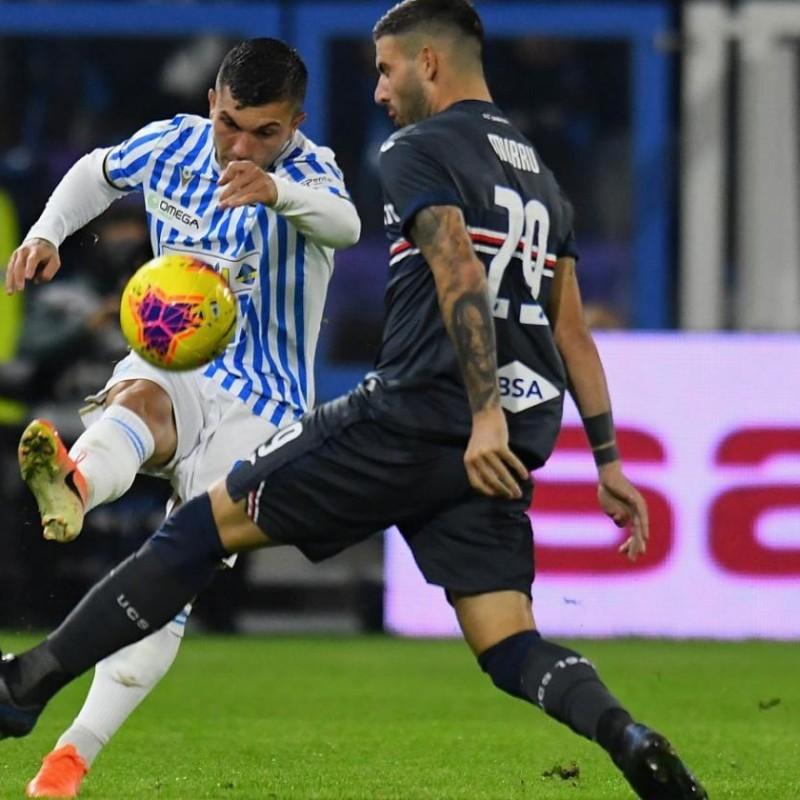Murru's Sampdoria Match-Issued Signed Shirt, 2019/20