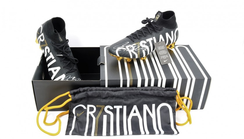 Cristiano's Limited Edition Signed Nike Boots
