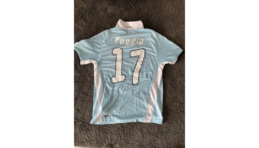 Foggia's Lazio Worn and Signed Shirt, TIM Cup Final 2009