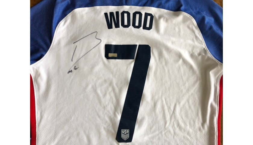 Bobby Wood Match-Worn and Signed Shirt