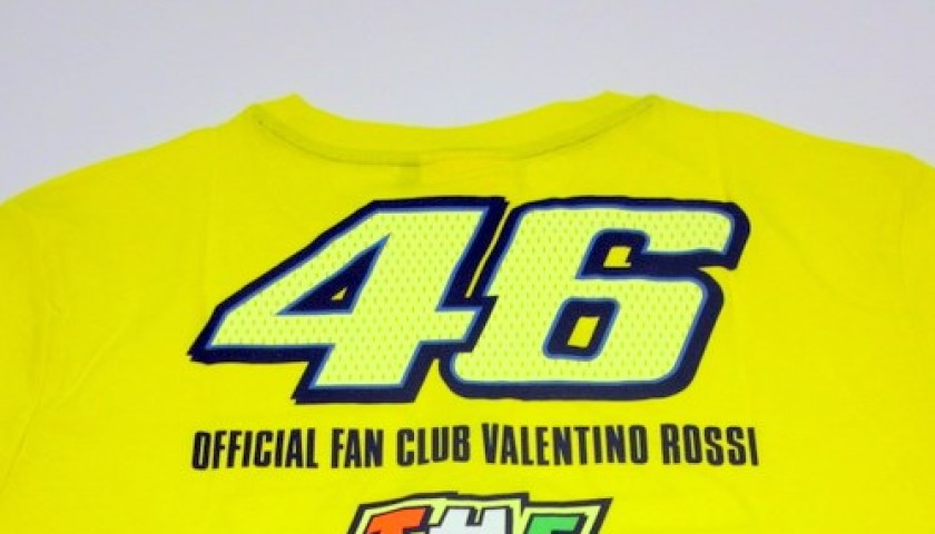 Valentino Rossi Official Fan Club signed t-shirt - CharityStars