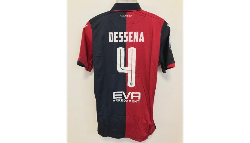 Dessena's Worn Shirt, Lazio-Cagliari 2016