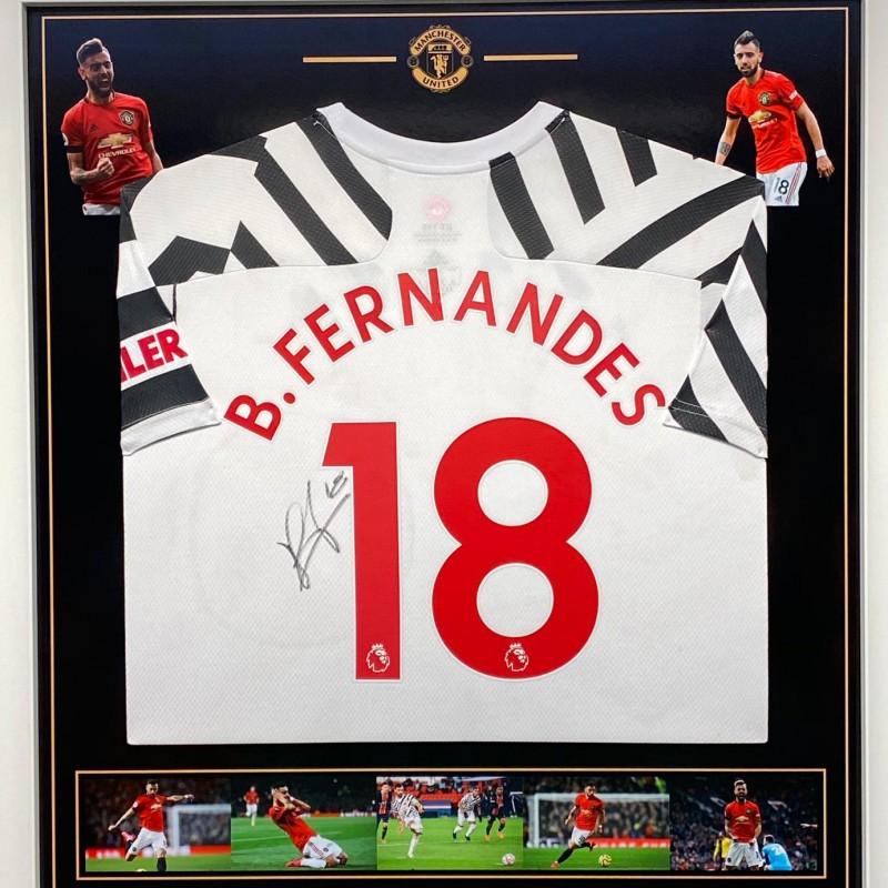 Fernandes' Manchester United Signed Shirt