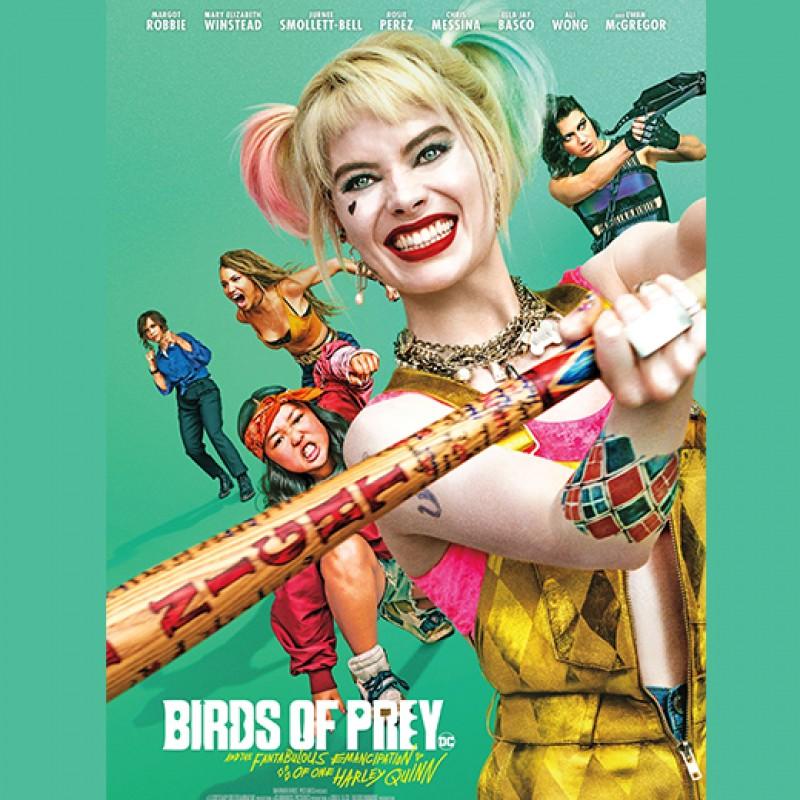 Margot Robbie Signed Harley Quinn Poster