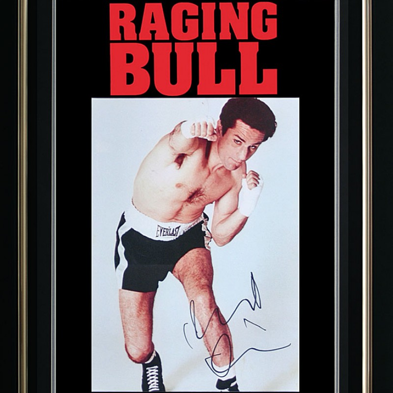 Robert Di Niro Hand-Signed Raging Bull Presentation
