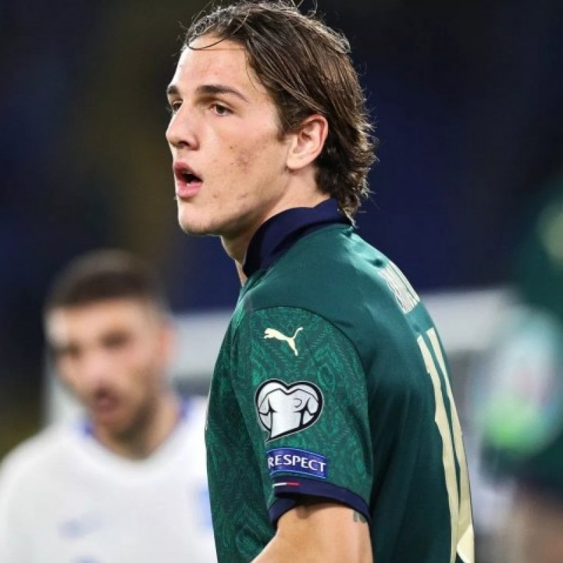 Zaniolo's Match Shirt, Italy-Greece 2019
