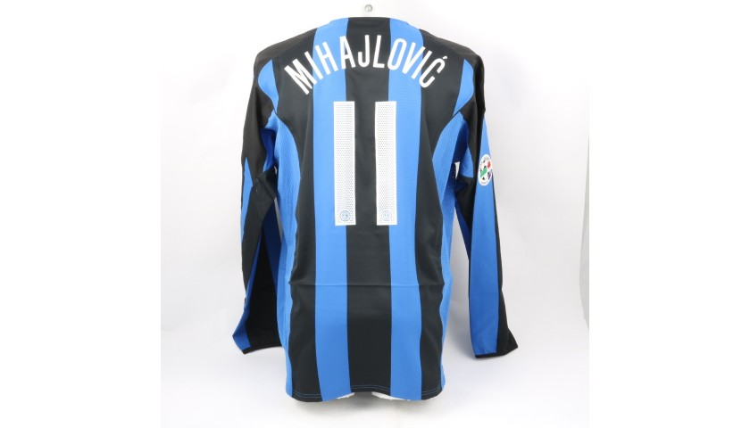 Mihajlovic's Inter Match Shirt, 2004/05