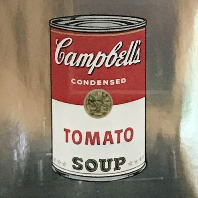 """Campbell's Soup"" by Andy Warhol"