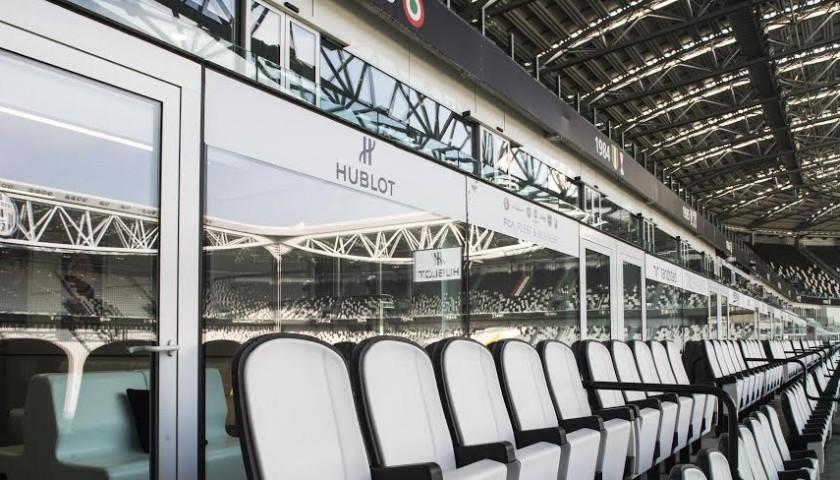 Attend a match from Hublot Juventus Stadium