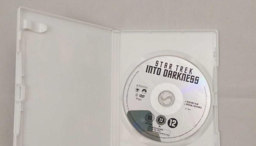 Star Trek Into Darkness DVD Signed by Cast Including Simon Pegg, Zoe Saldana and Anton Yelchin
