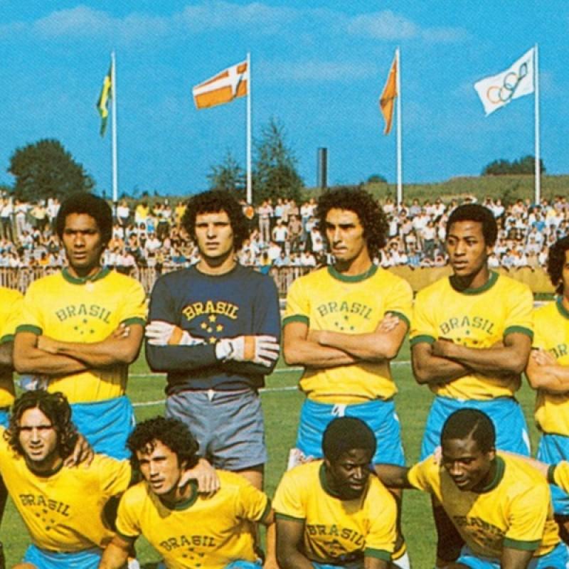 Dinamite's Brazil Worn Shirt, Munich 1972