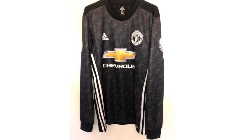 Lingard's Match Shirt, Arsenal-Manchester United 2017