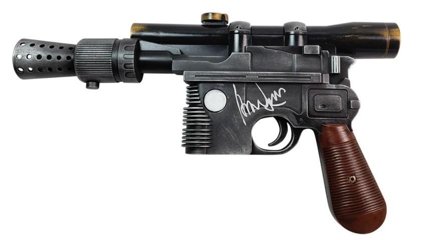 VINTAGE Star Wars Riproduzione repliche D/'ARMI Snaggletooth Blaster Grigio