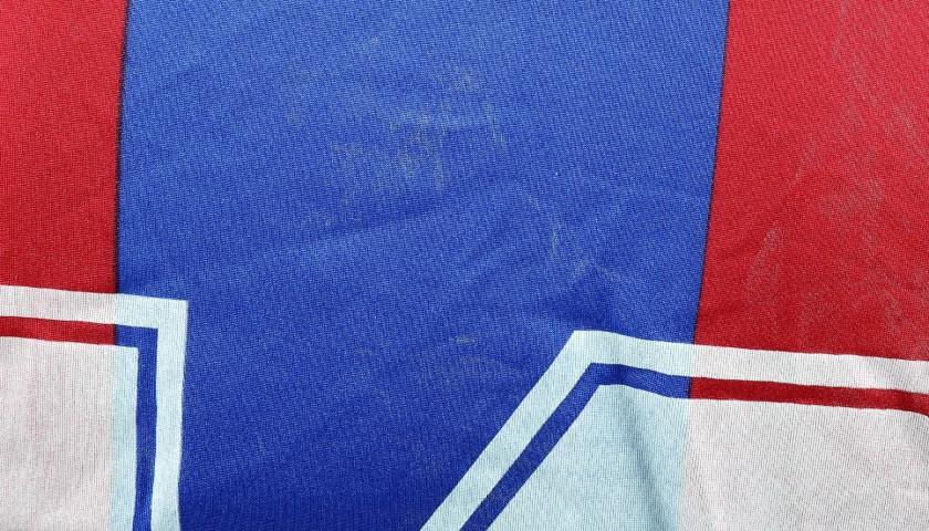 Maradona's Signed Match-Worn Barcelona Shirt, 1983/84
