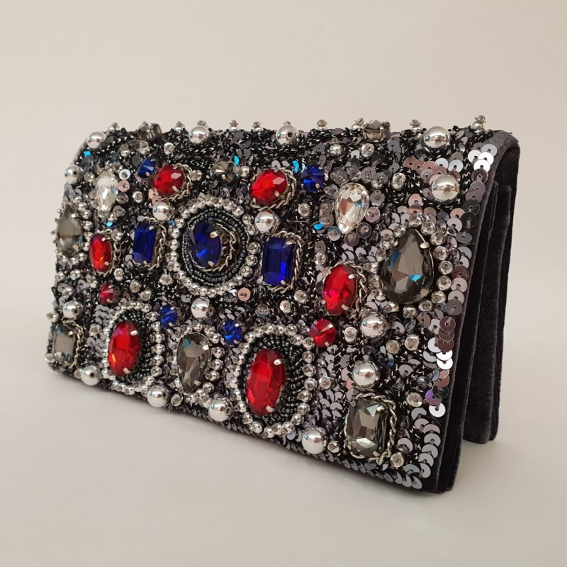 Jeweled Bag by Crystal Couture