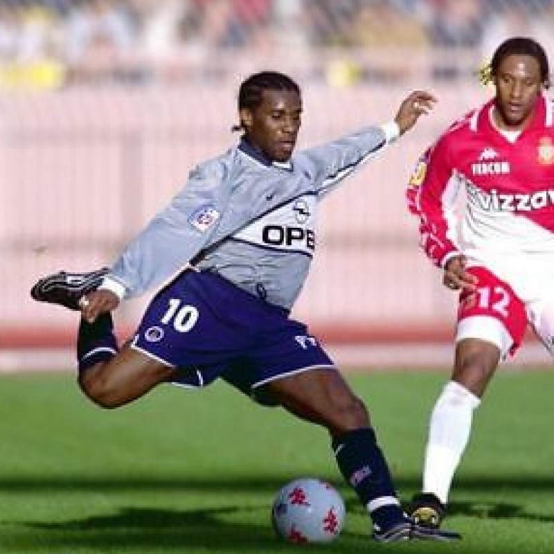 Okocha's Official PSG Signed Shirt, 2000/01