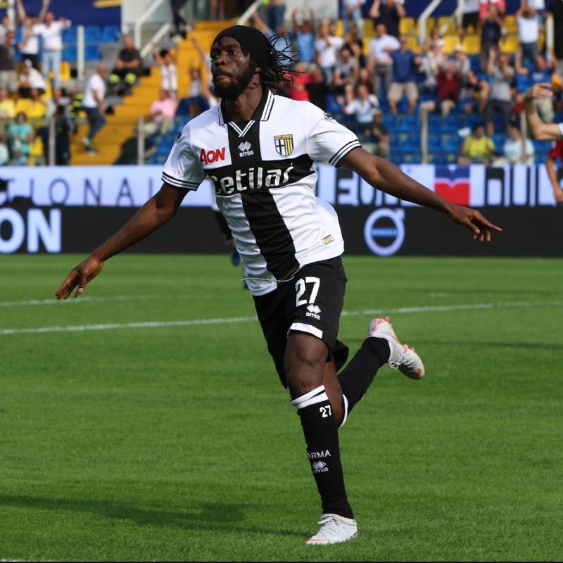 Gervinho's Parma Match Shirt, Serie A 2018/19