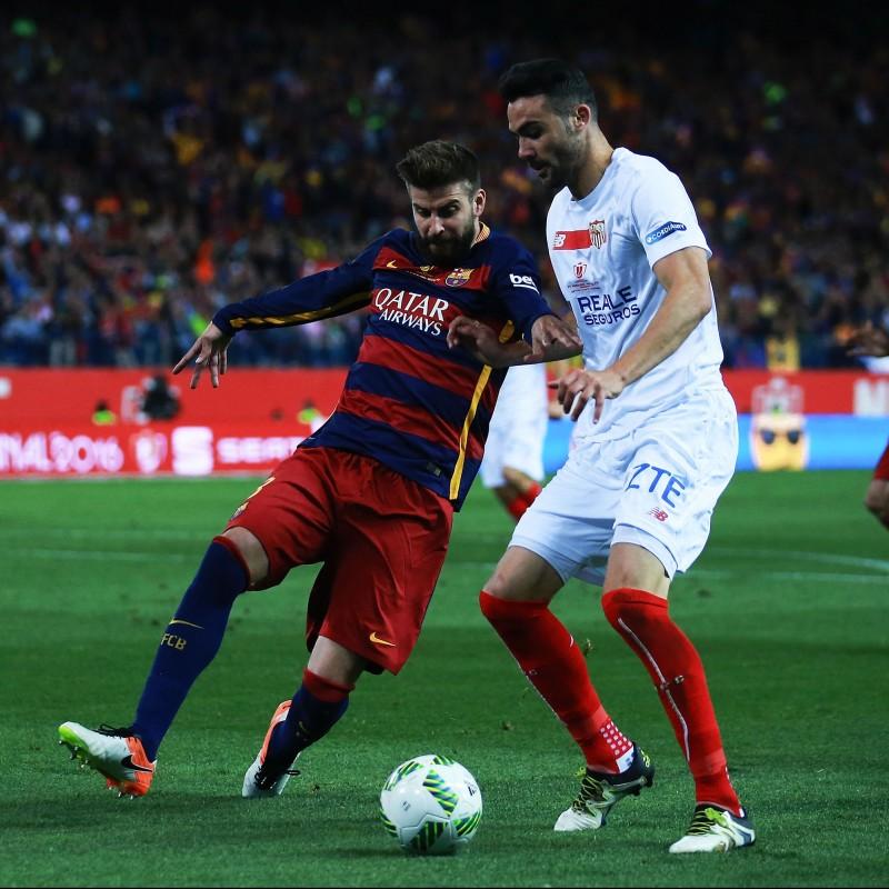 Iborra's Match-Issue/Worn Shirt, Copa del Rey Final 2016