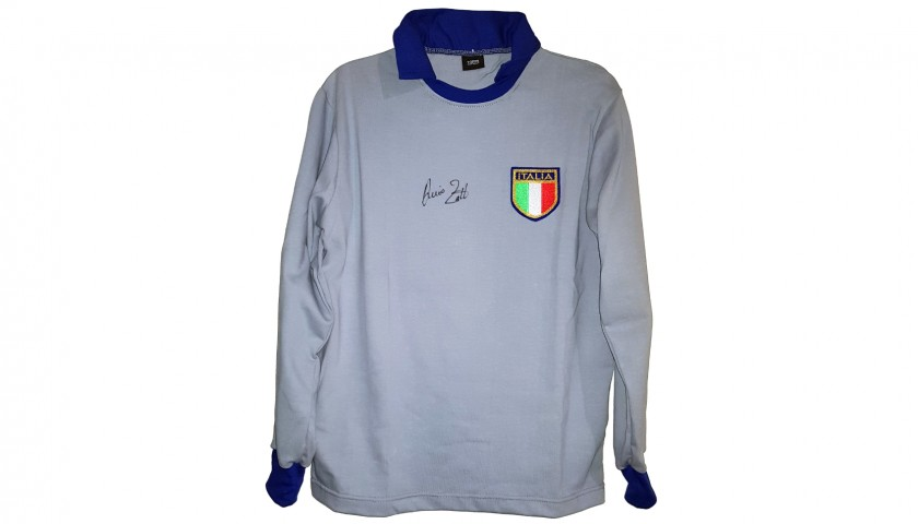Zoff's Official Italy Signed Shirt, 1982
