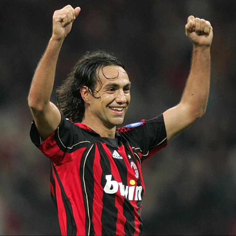 Nesta's Milan Match Shirt, Serie A 2006/07