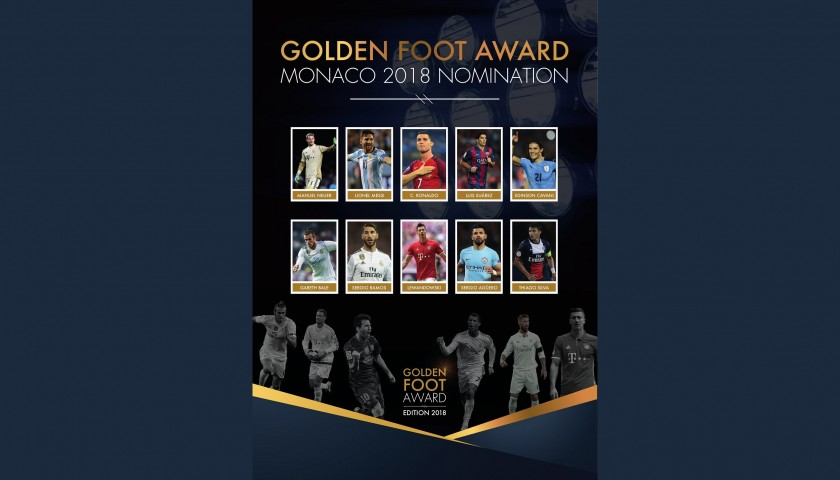 Attend the 2018 Golden Foot Gala Dinner