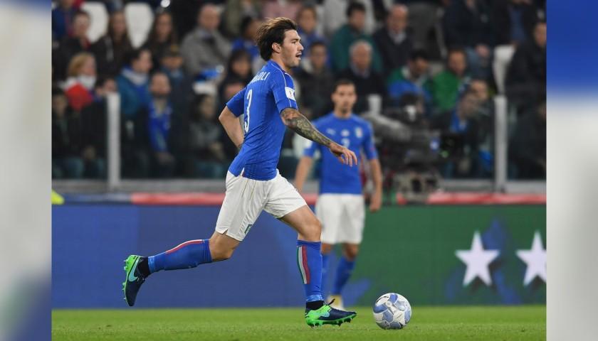 Romagnoli's Match Kit, Italy-Spain 2016