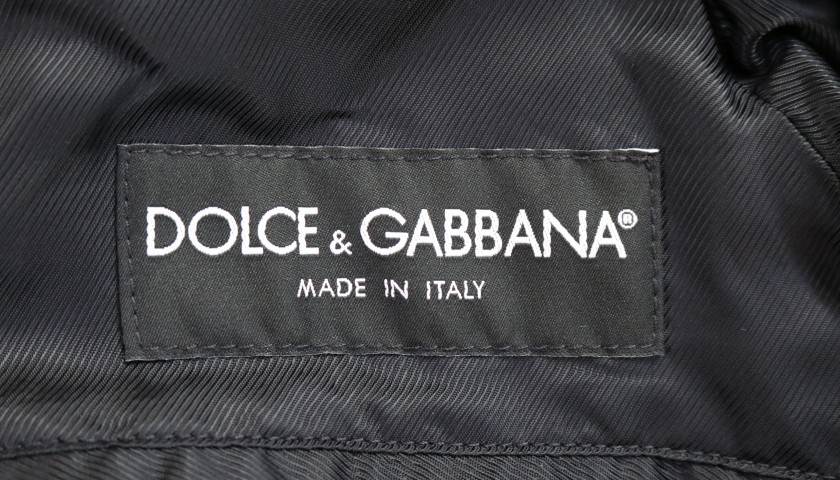 Italian National Football Team Trench Coat Worn by Claudio Marchisio